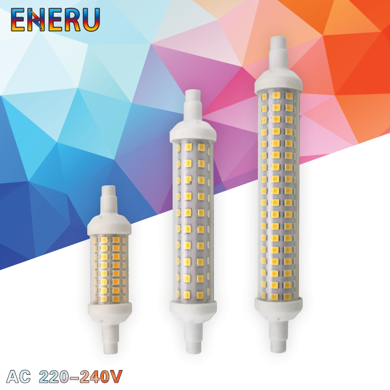 R7S LED 78mm 118mm 135mm R7s Light Bulb 6w 9w 12w SMD 2835 Lampada LED Lamp 220V Corn Light Energy Saving Replace Halogen Light