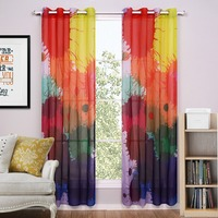 Modern Tulle Curtains for Living Room The Bedroom Kitchen Tulle Curtains For window Sheer Curtains Fabric Drapes decor