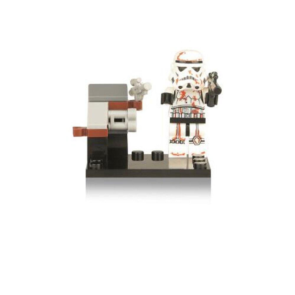 1 Stücke Star Wars Die Letzten Jedi Yoda Obi-wan Darth Vader Sturm Baustein Kompatibel Mit Legoinglys Starwars Geschenk Spielzeug 083-090