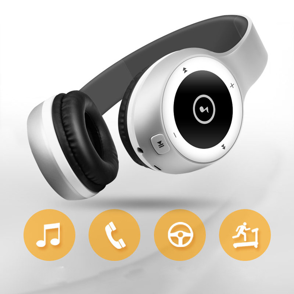 Active Noise Cancelling Wireless Bluetooth V4.0 Headphones with Mic Foldable Hi-Fi Stereo Headset Deep Bass Over Ear Headphone folding hifi deep bass earphone wired wireless stereo bluetooth headphone over ear noise cancelling headset with mic fashion