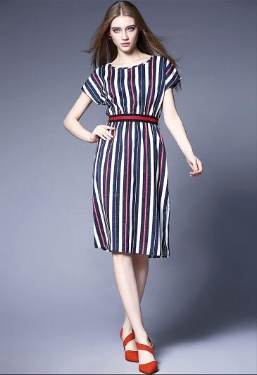 Latest Womens Fashion Clothing Dresses: Womens Summer Dresses 2016 Summer Plus Size Casual Women