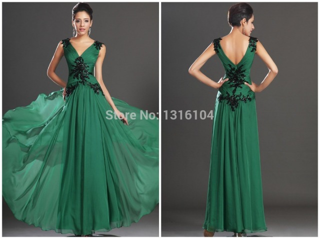 Inexpensive evening dress