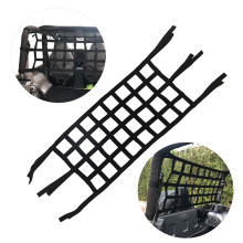 Roof / Rear 600D Webbing Cargo Net Roof Net Storage Back For Jeep Wrangler JK T(China)