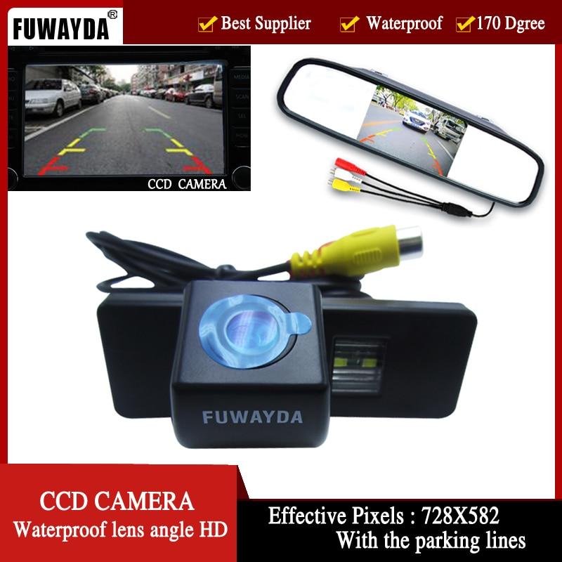 FUWAYDA Car Rear View Camera for Nissan QASHQAI X TRAIL Geniss Citroen C Triomphe Pathfinder 4