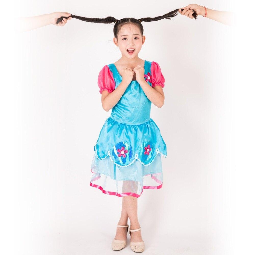Magic Elf Children's Performance Costume Halloween Trolls Bobby Princess Fantasy Comic Movie Carnival Party Purim Halloween