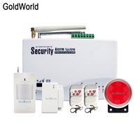 English Russian Voice Prompt SIM Home Security GSM Alarm System Auto Dialing Dialer SMS Call Remote