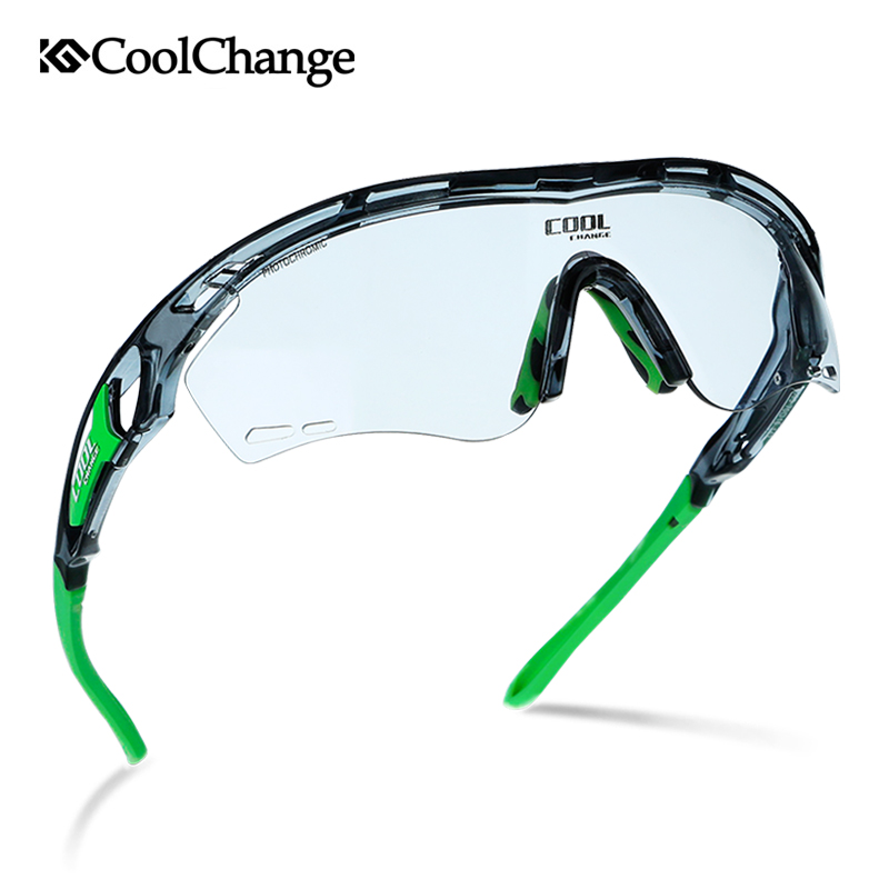 CoolChange Men Women Photochromic Cycling Glasses Polarized Running Sunglasses Driver Sports Goggles Night Vision Sunglasses obaolay photochromic cycling glasses polarized man woman outdoor bike sunglasses night driving glasses mtb bicycle eyewear