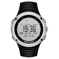 NORTH EDGE Men's sport Digital watch Hours Running Swimming sports watches Altimeter Barometer Compass Thermometer Weather men
