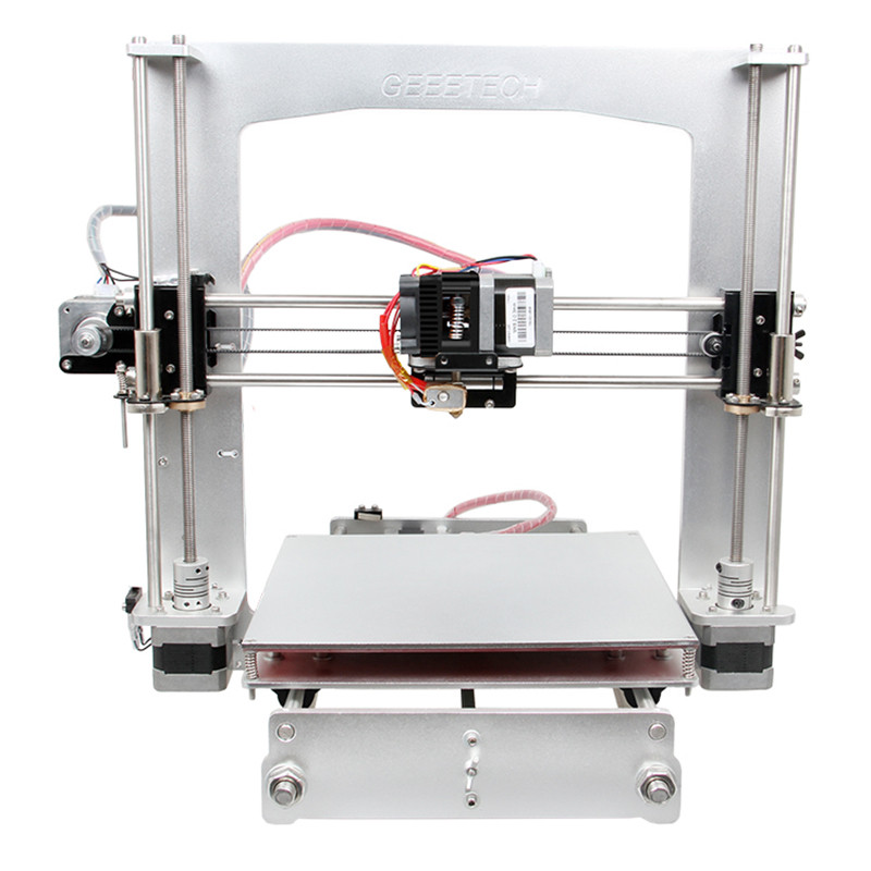 Geeetech Aluminum prusa I3 A Pro 3D printer DIY kit Easy assembly Easy debugging Visible parts