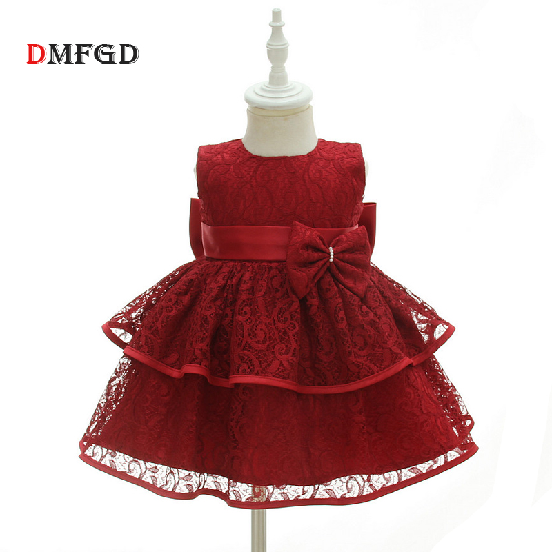 Luxury Baby birthday dresses for girl children costume clothes princess dress kids wedding formal toddler girls summer clothing summer kids girls lace princess dress toddler baby girl dresses for party and wedding flower children clothing age 10 formal