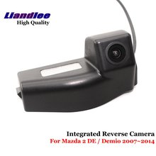 Liandlee For Mazda 2 DE Mazda2 / Demio 2007~2014 Car Rear View Backup Parking Camera Reverse SONY CCD Integrated