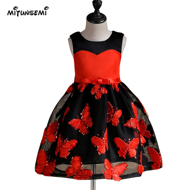 3 9 years teenagers girls dress wedding party princess christmas dresses for girl party costume - Christmas Dresses For Teenage Girls