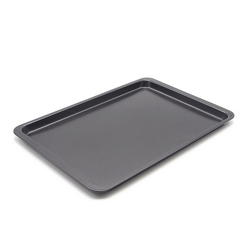 1pcs 14 5 Inch Non Stick Rectangle Carbon Steel Cake Bread