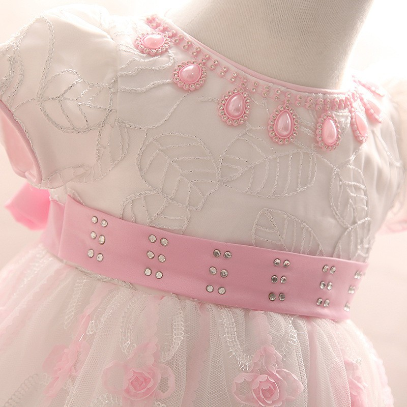 Newborn Birthday Dress (7)