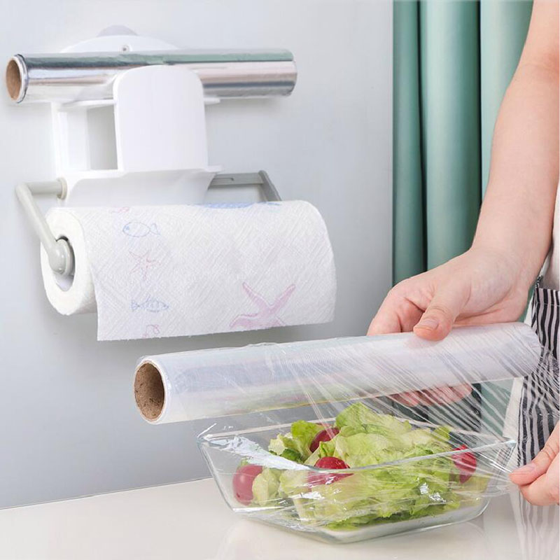 050 Multifunctional Kitchen rack telescopic fridge hanger without perforation and no mark for multilayer storage rack 22 15 5cm in Racks Holders from Home Garden