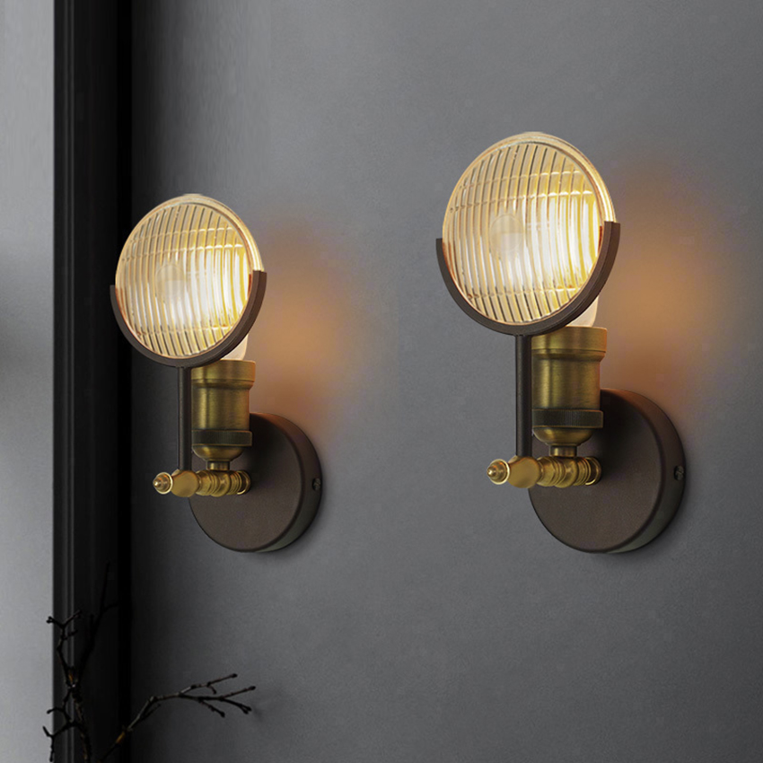 цены Loft Style Wall Light Vintage Wall Lamp Industrial Creative E27 Iron Retro Fixtures Simple Edison Bulb Sconce Lamparas Luminaire