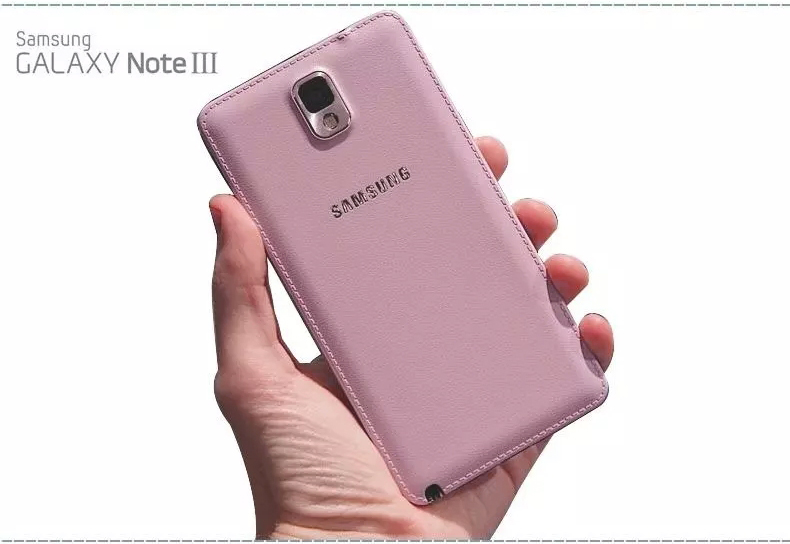 Original SAMSUNG Back Battery Rear Case For Samsung GALAXY NOTE3 N900 N9002 N9005 N9006 N9008 N9009 Phone Battery Backshell in Phone Bumpers from Cellphones Telecommunications