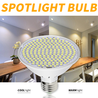 Светодиодный потолочный светильник E27 прожектор светодиодный кукурузная лампа 220 В лампада 126 200 светодиодный энергосберегающей высокой Мо...