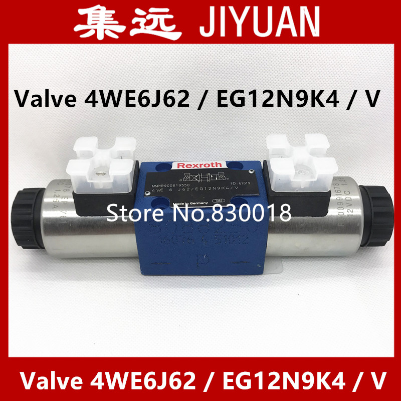 [SA] New original authentic special sales Rexroth solenoid valve 4WE6J62 / EG12N9K4 / V Spot