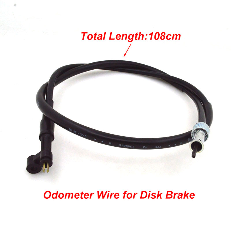 For GY6-125 GY6-150 GY6 125cc 150cc Motorcycle Disc Drum Brake Odometer Clutch Tachometer Oil Hose Throttle Cable Rope Wire