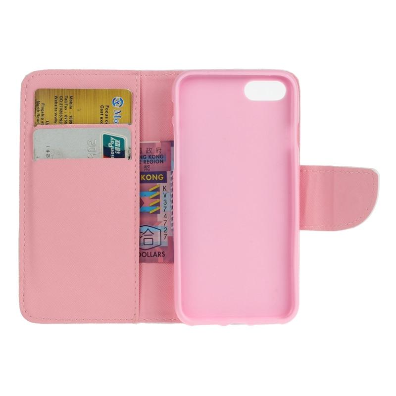 Lyxigt läderfodral för iPhone 7/7 Plus plånbok Flip Cover - Reservdelar och tillbehör för mobiltelefoner - Foto 4