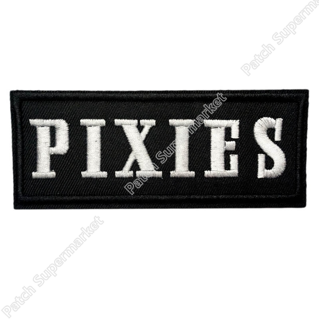 PIXIES Music Band Iron On/Sew On Patch Tshirt TRANSFER MOTIF clothing Rock Punk Badge scrapbooking accessories