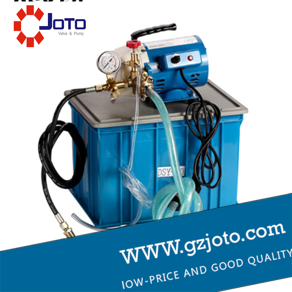 DSY 60 250W Portable Electric Hydraulic Test Pump Pipe Pressure Testing Machine