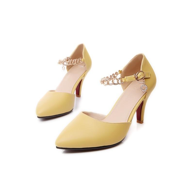 f9a8b1685 Sexy Primavera/Outono Dedo Apontado Salto Fino sapatos de salto alto tamanho  grande 31-48 mulheres sapatos da moda sapatos de casamento vermelho  sandálias ...