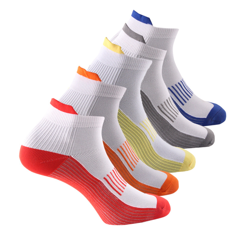 Brothock Pressure Socks Cycling Outdoor Ancle Socks Short Tube Elasticity Nylon Sports Compression Socks For Men And Women