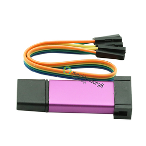 Image 3 - 1Set ST LINK Stlink ST Link V2 Mini STM8 STM32 Simulator Download Programmer Programming With Cover DuPont Cable