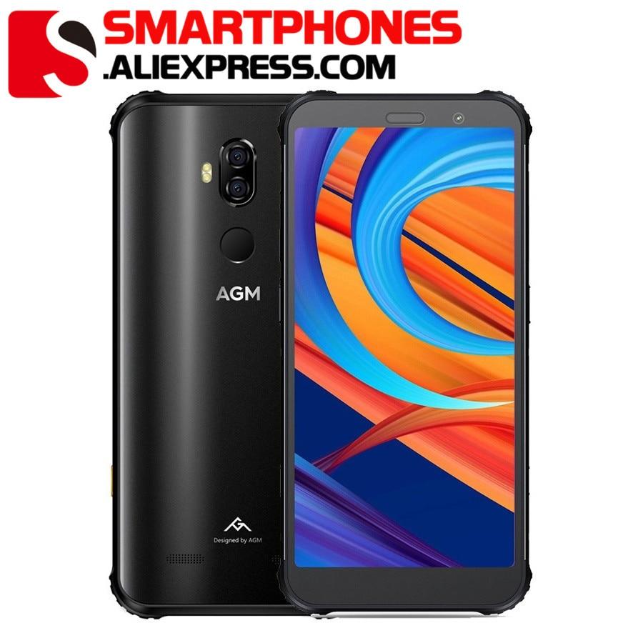 AGM X3 Rugged Phone 8GB+256GB Smartphone IP68 Waterproof Fingerprint 5.99'' Android 8.1 Octa Core Wireless Charging Smartphone
