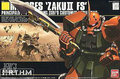 Bandai HGUC 34 MS-06FS Zaku II Garmas Gundam Model Kits Assembled Model Huge Model scale model
