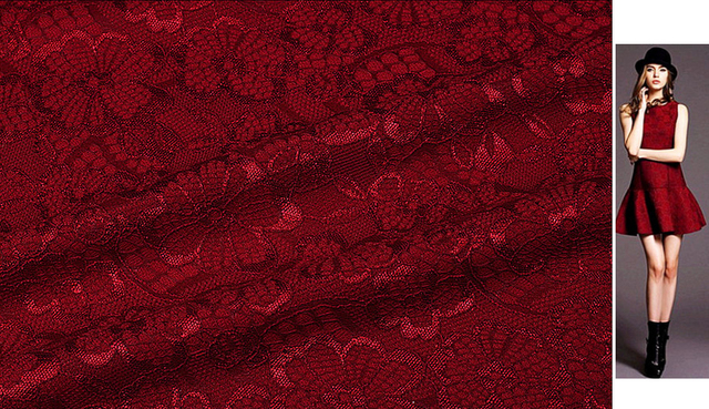 European Style Double Layer Composite Lace Fabrics Velvet dress african fabric tissus au metre tecido pour patchwork wax kinder
