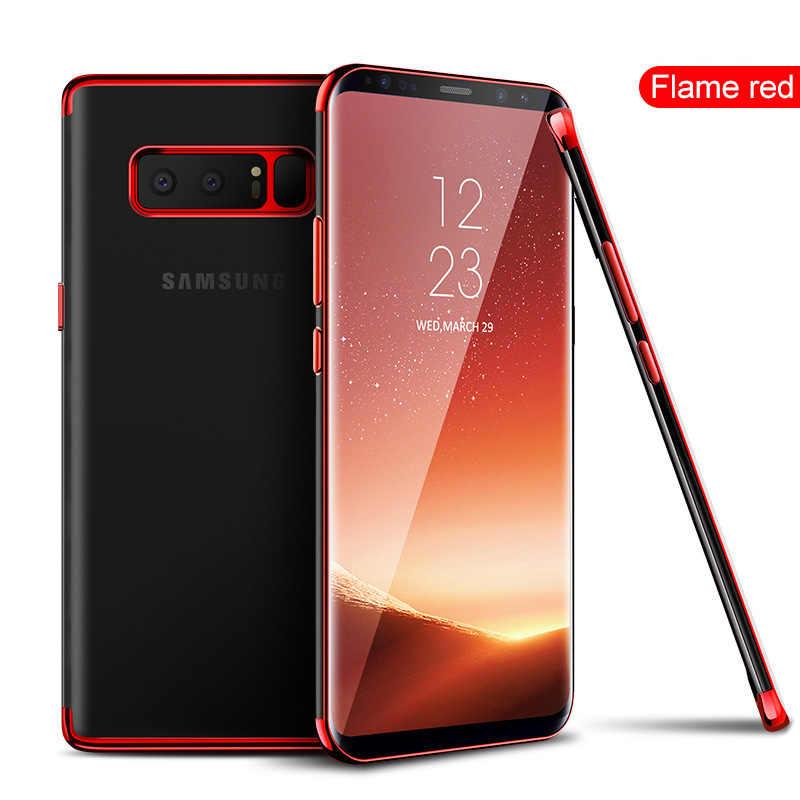 Suave teléfono celular TPU caso para Samsung Galaxy J8 J7 J6 J5 J4 J3 J2 primer Pro A8 A6 Plus a7 A5 A3 2016, 2017 de 2018 duos delgada cubierta