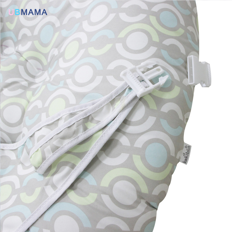 Купить с кэшбэком baby bed portable infant bed removable sofa safety belt chair baby cotton bed baby game bed travel bag