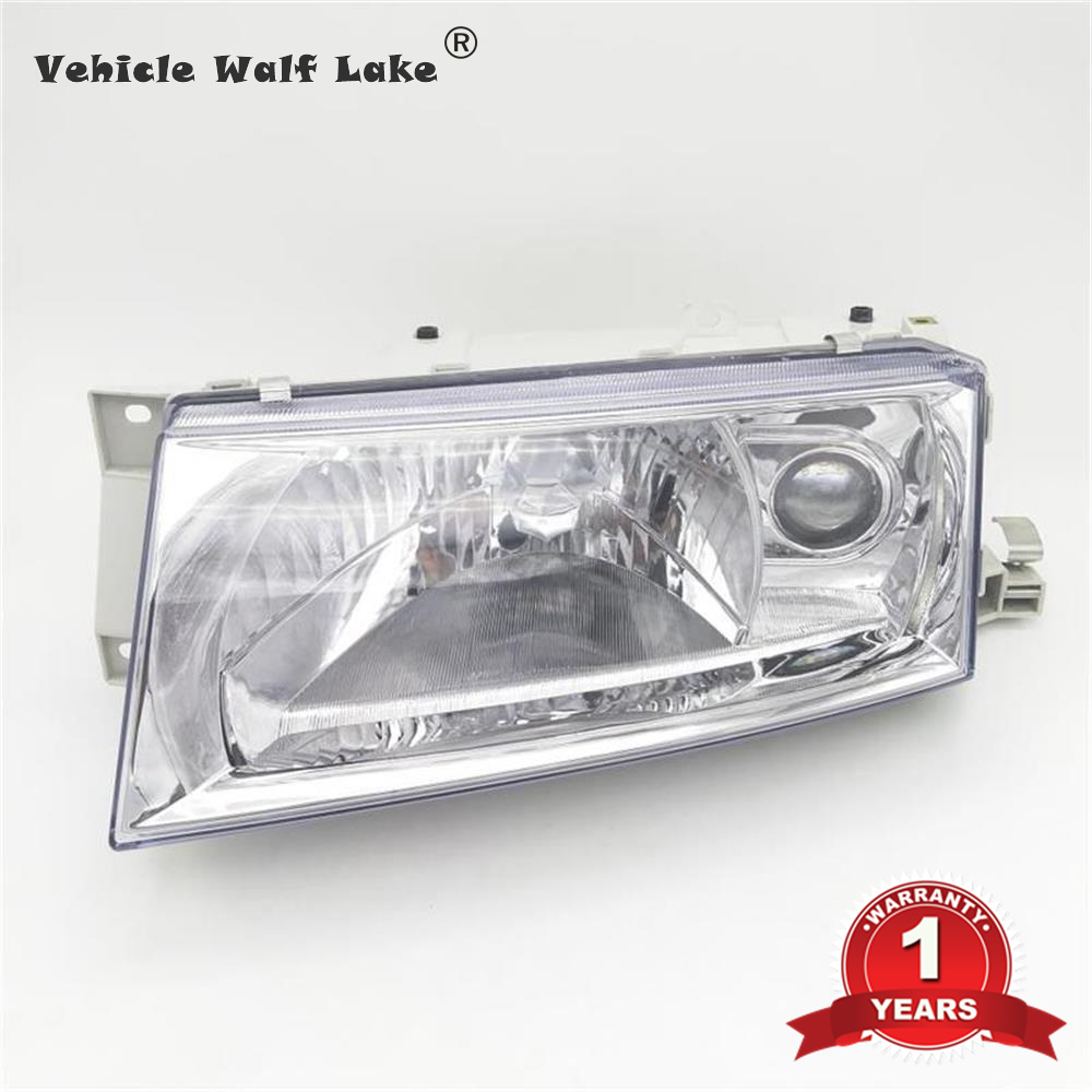Left Side Headlight For Octavia A4 1996 1997 1998 1999 2000 2001 2002 2003 2004 2005 2006 Front Halogen Headlight Without Bulbs