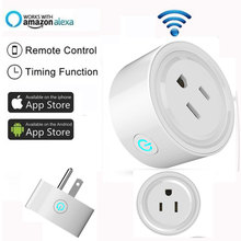 Smart Wifi Plug with APP support Alexa Google Home Programmable Smart Socket Wifi Plug IFTTT Remote Control by Wifi Smart Home qiachip us plug wifi smart home ip55 waterproof socket app remote control work with amazon alexa supported ifttt google timing