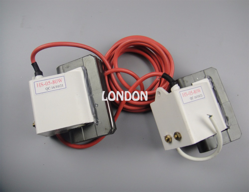 80W Co2 Laser Power Supply high voltage transformer high voltage flyback transformer for co2 50w laser power supply