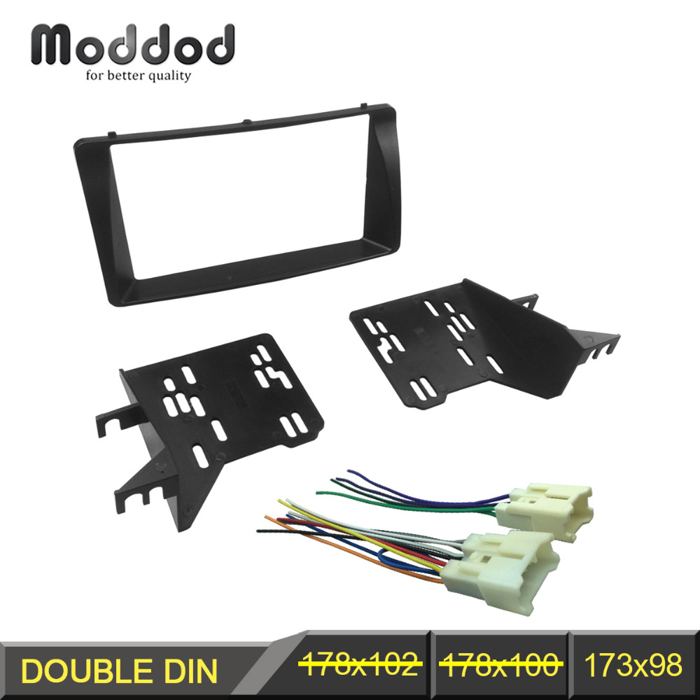 Double Din Fascia for font b TOYOTA b font font b Corolla b font font online get cheap toyota corolla stereo wiring aliexpress com toyota corolla wiring harness adapter at crackthecode.co