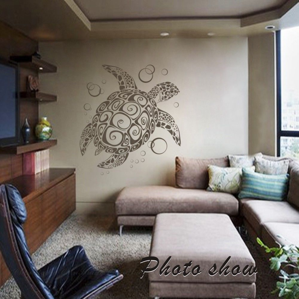 Aliexpress buy sea turtle ocean wall decal animal natural aliexpress buy sea turtle ocean wall decal animal natural vinyl removable baby room mural decor 22inx24in from reliable wall decals animals suppliers amipublicfo Gallery