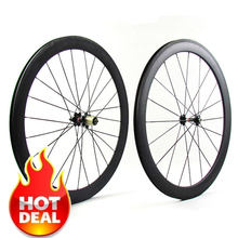 2Years Warranty Light weight China Carbon T700 700C 23mm wide Road Bike 50mm Clincher Wheelset cycle Chinese cheap carbon wheels