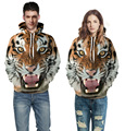 Women Men hoodies hip hop sweatshirt funny 3D Tiger Lion fashion brand plus size hoodie men tracksuit unisex Couples pullovers
