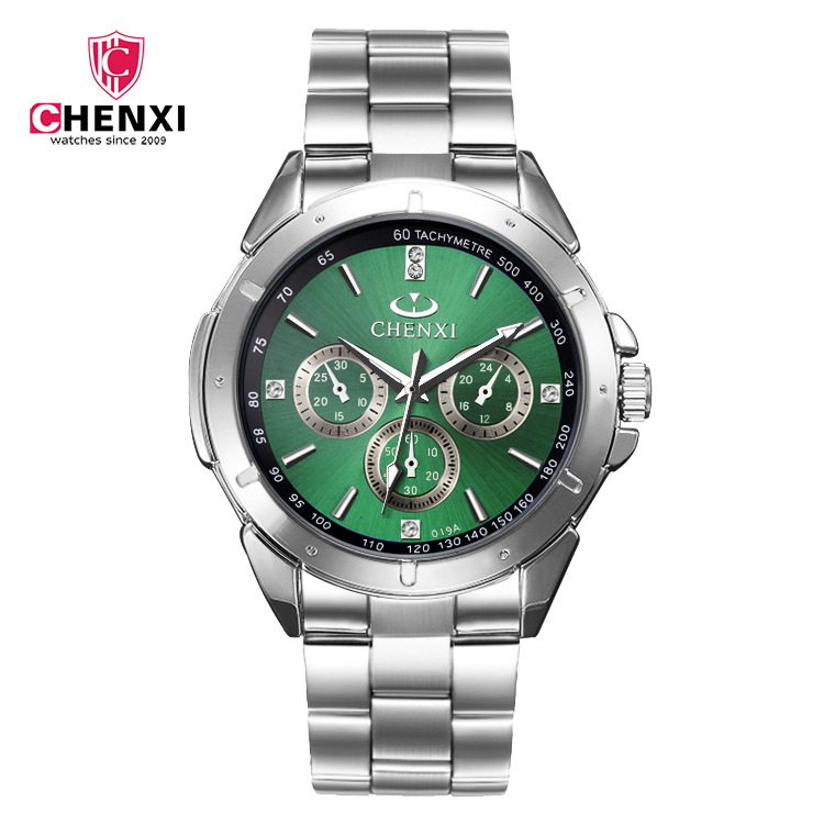 Sport Quartz Big Dial Men's Woman Luxury Business Male Watches Waterproof Military Mens Clocks Stainless Steel Band Wrist Watch