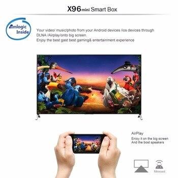 X96 Mini Android 7 1 Smart Tv Box 2gb 16gb Tvbox X 96 Mini Amlogic