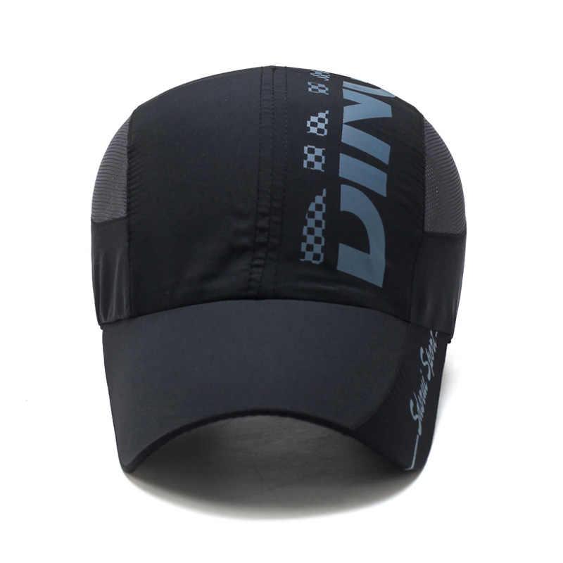 fe3dda82dc8 ... MNKNCL 2018 New Baseball Cap Quick Drying Mesh Sun Cap Lightweight Sports  Hat Breathable Sun Runner ...
