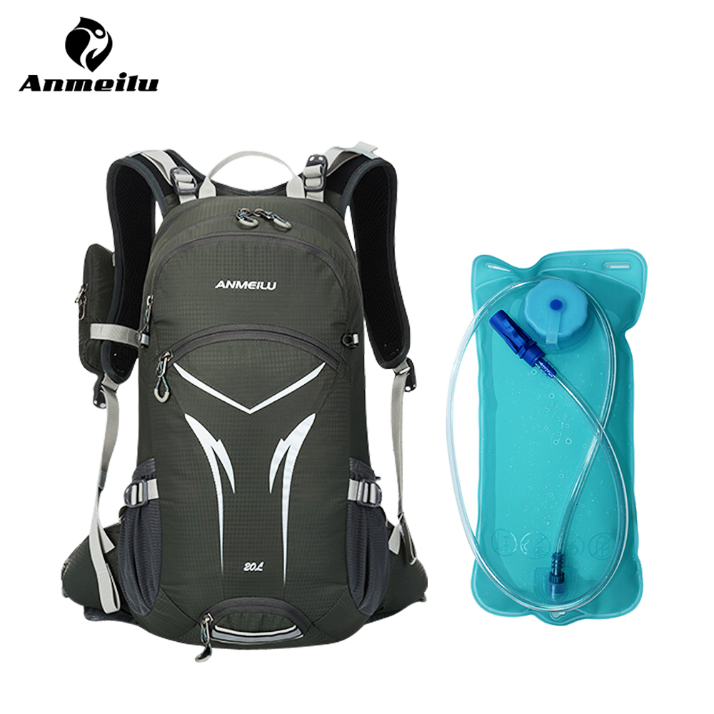ANMEILU 20L Water Bag Cycling Backpack Waterproof Ultralight Hiking Camping  Climbing Travel Rucksack Outdoor Bag Hydration Pack dd63a1f8cf3b8