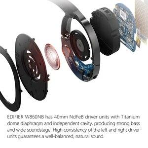 Image 4 - EDIFIER W860NB supporto per auricolari wireless ANC accoppiamento NFC e decodifica audio aptX cuffie Bluetooth Smart Touch