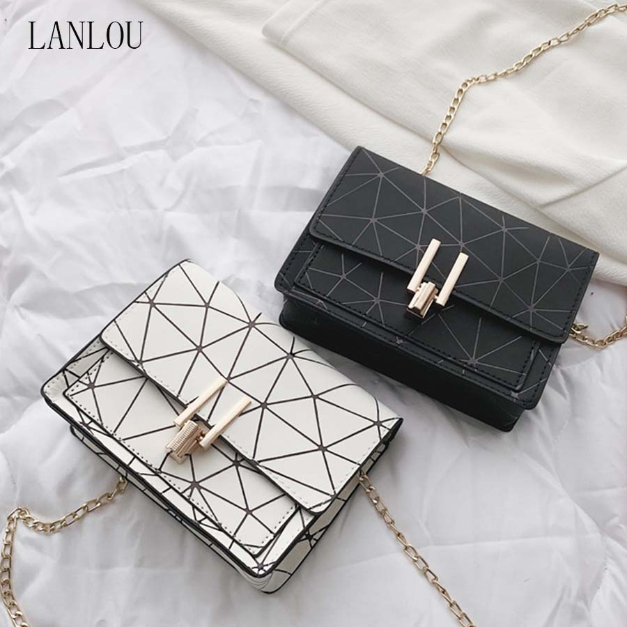 LANLOU 2019 Handbag Luxury Handbags Women Bags Designer Shoulder Bag Women Bag Purses And Handbags