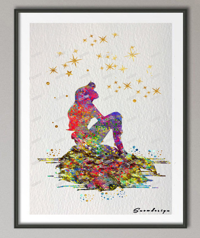 The Little Canvas: Popular Mermaid Picture-Buy Cheap Mermaid Picture Lots