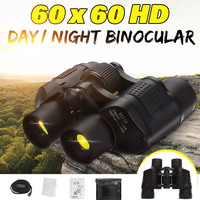 60X60 Zoom Day/Night Vision Outdoor HD Binoculars Hunting Telescope with Case FG66